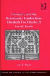 Literature and the Renaissance Garden